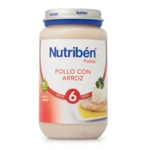 potito nutribén® de pollo con arroz