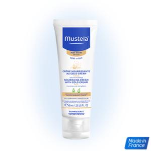 Crema nutritiva al cold cream para bebés de mustela