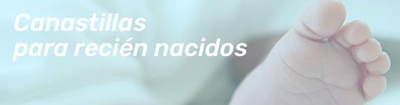 regalo para recién nacidos. canastillas para bebés con productos de parafarmacia
